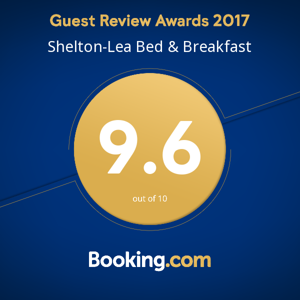 Booking. Com Guest Review Award